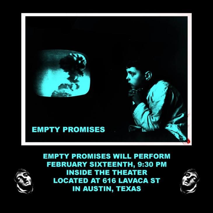 Empty Promises Comedy Show 2.16.17